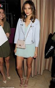 maria menounos and karina smirnoff rock mini dresses at