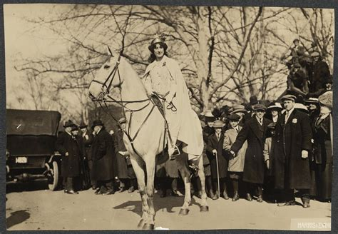 suffragists in washington dc the 1913 parade and the fight for the vote american heritage books inez milholland boissevain preparing to lead the march 3