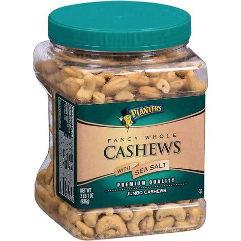 Planters Cashews planters fancy whole cashews with sea salt 33 oz ebay