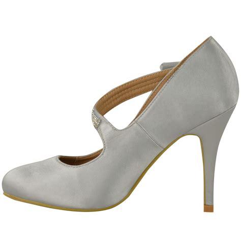 womens bridal wedding prom high heel classic