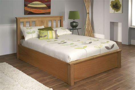 ottoman double beds uk limelight terran 4ft6 double oak veneer ottoman lift bed
