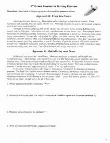 Longer Recess Persuasive Essay by Persuasive Writing Packet