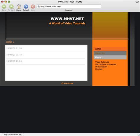rapidweaver theme editor mac machouse a world of mac stuff