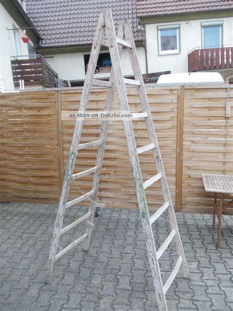 Alte Leiter Holz by Alte Holz Leiter Alte Bock Leiter Deko Holz Leiter