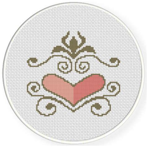 ornament cross stitch pattern daily cross stitch