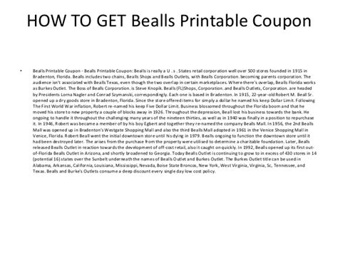 printable burkes outlet coupons bealls printable coupon bealls printable coupon code
