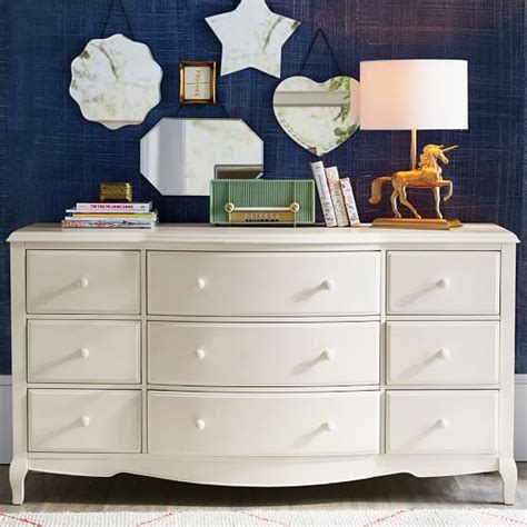 designed the lilac bedroom collection for pbteen lilac 9 drawer dresser pbteen