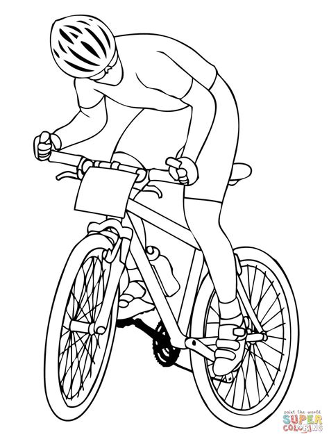 Bmx Coloring Page by Bmx Coloring Page Coloring Home