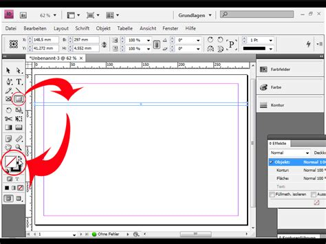 Design Pro 5 Neue Vorlage Erstellen Vektorgrafik Erstellen Streifen F 252 R Flyer Und Plakate Indesign Tutorials De