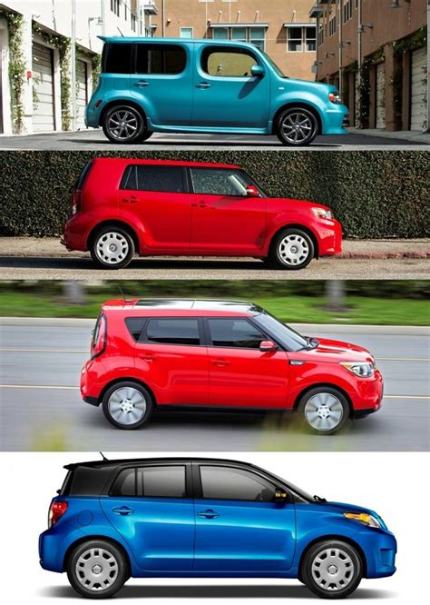 kia cube box social scion xb and xd versus nissan cube and kia