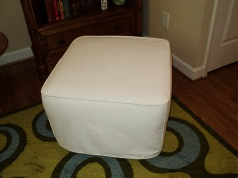 custom made ottoman custom made slipcover for your ottoman from your by
