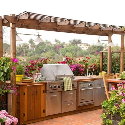 creative outdoor kitchens creative outdoor kitchen design ideas