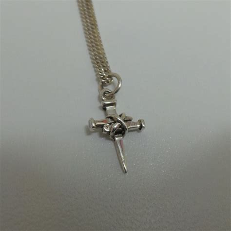 coventry cross of nails small silver pendant francis gaye jewellers