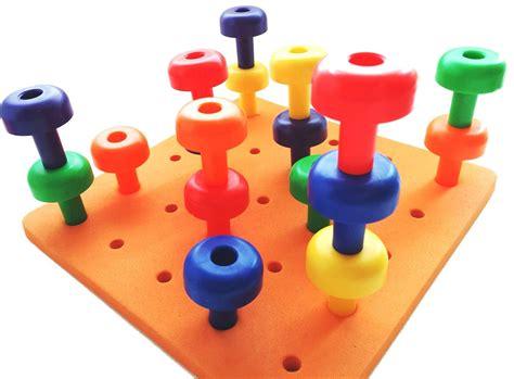 motor skill toys galleon skoolzy peg board set montessori occupational