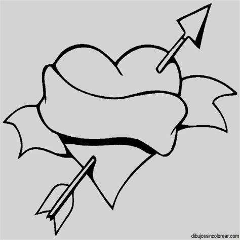 imagenes para dibujar en color dibujos de corazones con alas para dibujar y colorear