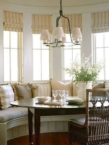 rooms  love refined country breakfast nook