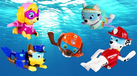 pup colors pup to learn books paw patrol paddling pups swim in pup pool learn