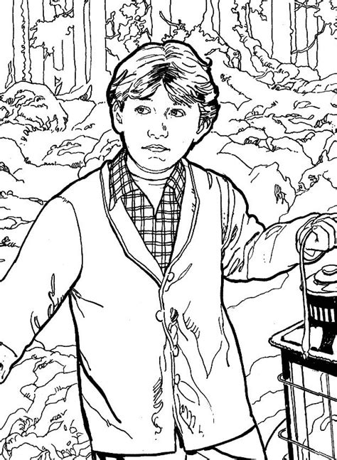 1000+ images about Coloring Pages/ LineArt Harry Potter on