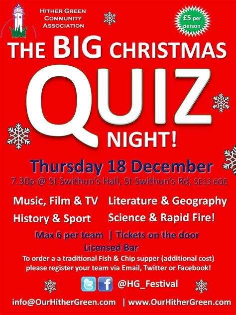 sign up for the big hither green christmas quiz our