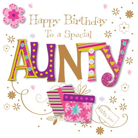 Birthday Cards For My Special Aunty Happy Birthday Greeting Card Cards Love