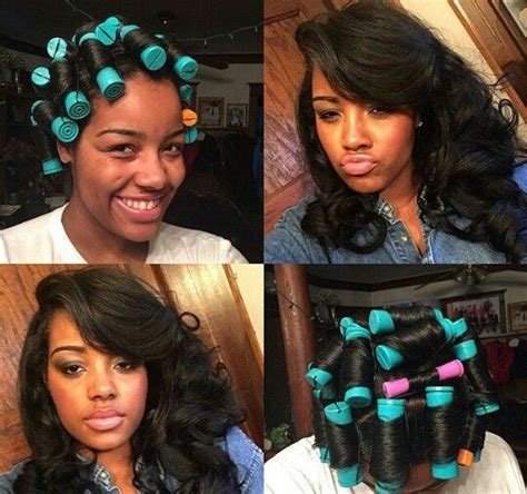 the perfect roller set for bob hair style 5 ways to ensure perfect heatless curling on 4c natural