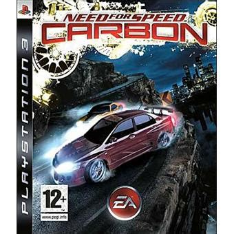 Dvd Original Playstation 3 Bluray Need For Speed need for speed carbon sur playstation 3 jeux vid 233 o achat prix fnac