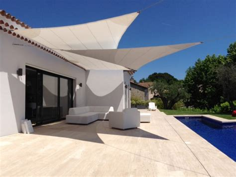 Terrasse Voile D Ombrage by Les Voiles D Ombrage 10 Maisons 10 Styles