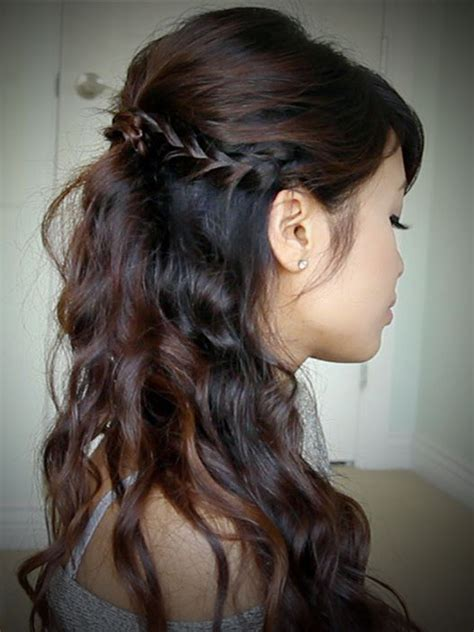 Half Up Half Hairstyles For Prom by Up Hairstyles For Prom Hairstyle Hits Pictures