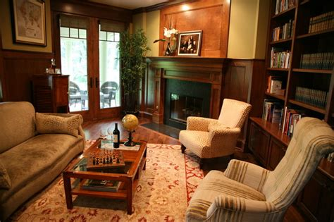 custom library traditional home office milwaukee