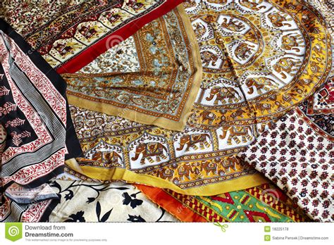 Handmade Indian - handmade printed fabric on the market in india royalty
