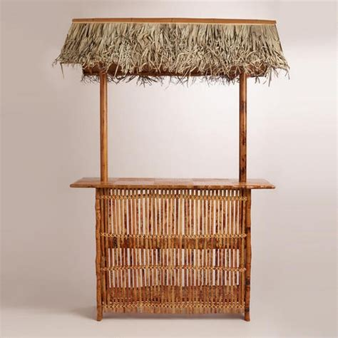 Tiki Bar Roof Tiki Bar With Roof World Market Home Decorating