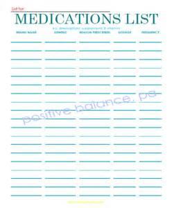 7 best images of printable pocket medication list my