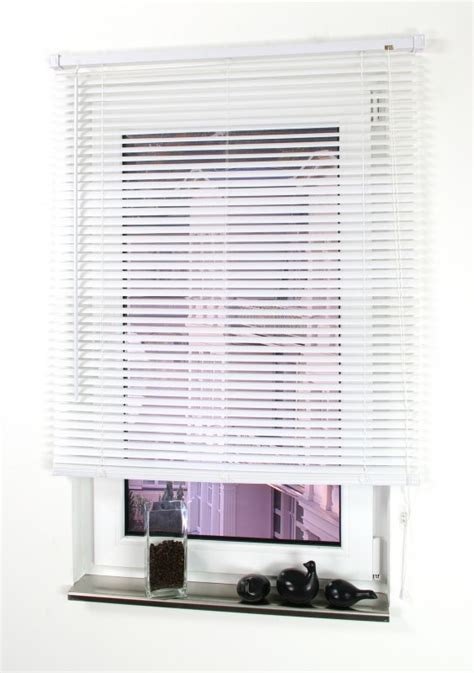 jalousien kunststoff casa kunststoff jalousie weiss 160 x 40 cm