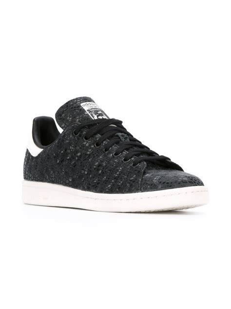 stan smith sneaker adidas originals stan smith sneakers in black lyst