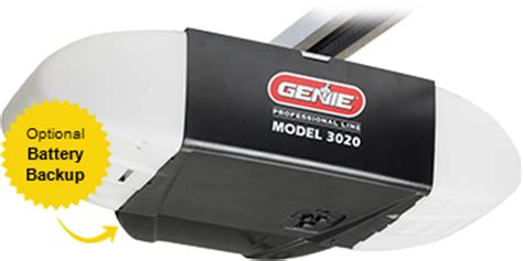 Model 3020 Garage Door Opener By Genie Most Reliable Pro Line Garage Door Opener