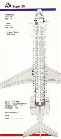 American Airlines Floor Plan American Airlines Aa Aircraft Reference Facts Information