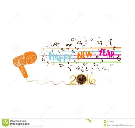 new year 2016 song in musical and happy new year 2016 background 2016