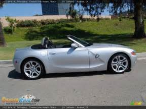 2003 bmw z4 2 5i roadster titanium silver metallic black
