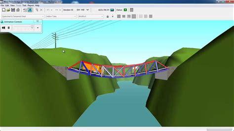 bridge pattern youtube construindo uma ponte treli 199 ada com o software west point