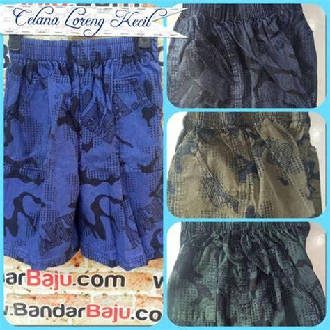 Kaos Loreng Katun grosir celana loreng murah harga rp 13 500
