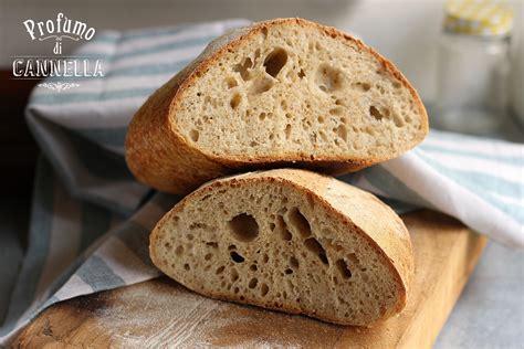 fare il pane in casa a mano pane fatto in casa con farine miste profumo di cannella