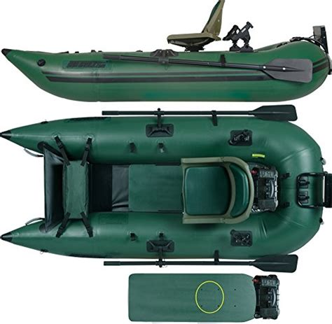 fishing from inflatable pontoon boat sea eagle 285 inflatable frameless fishing pontoon boat