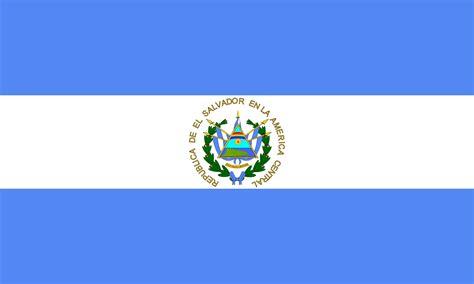 el salvador el salvador flag free large images