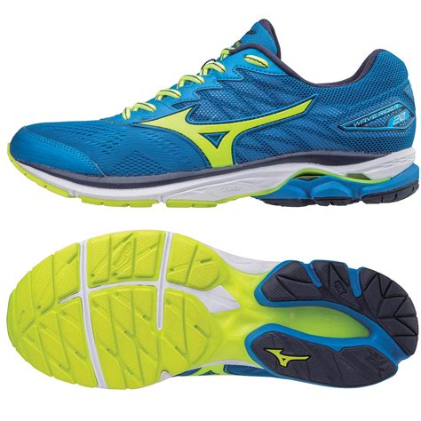 Mizuno Wave Rider 20 Mens Running Shoes Sweatband