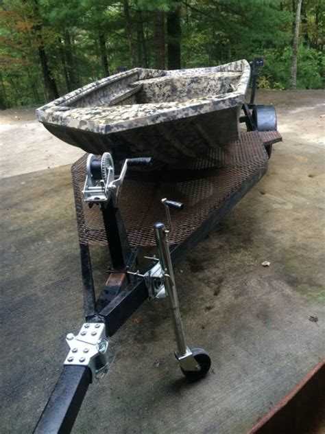 used havoc duck boats for sale fs ft 2014 havoc 1553 duck boat with trailer the