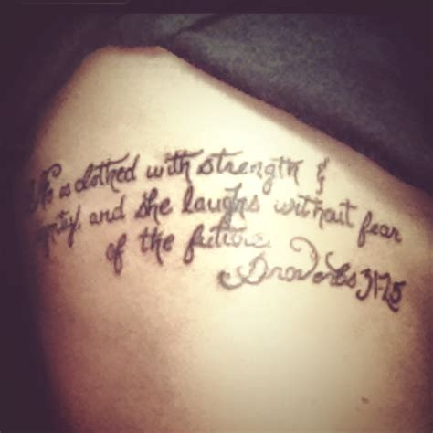 proverbs tattoos pics for gt proverbs 31 25 ribs