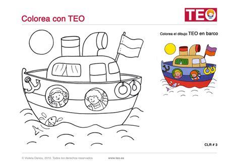 imagenes de barcos para niños fichas para vacaciones para ni 241 os aprende con teo