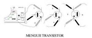 jenis transistor germanium komponen elektronika dunia akhirat