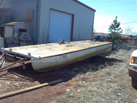 layout boat for sale craigslist 1987 24 playcraft pontoon pontoon forum gt get help with