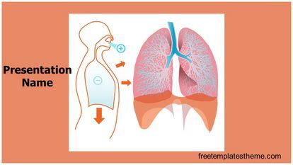 Free Lungs Powerpoint Template Freetemplatestheme Com Lung Ppt Templates Free